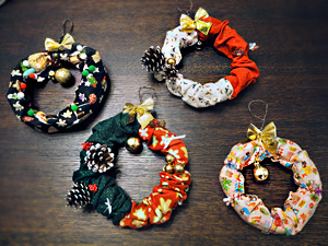 クリスマスリース☆20161212k01