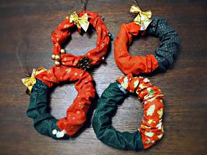 クリスマスリース☆20161214k02