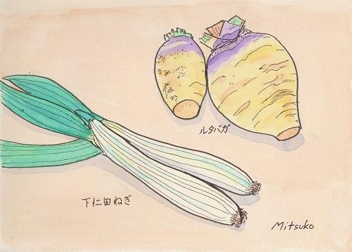 築地の野菜