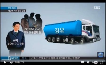 【動画】韓国で在韓米軍相手の詐欺 軽油と称し灯油を納入 ペンタゴンも事態を重視 [嫌韓ちゃんねる ~日本の未来のために~ 記事No13798