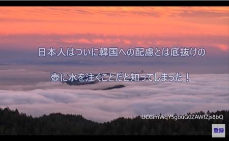 【動画】日本人はついに韓国への配慮とは底抜けの壺に水を注ぐことだと知ってしまった!反日に溺れ思考停止に陥った韓国 [嫌韓ちゃんねる ~日本の未来のために~ 記事No14836