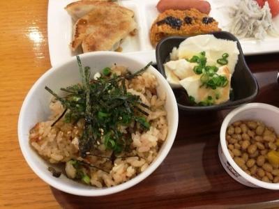 161211リッチモンドホテル浜松朝食ビュッフェ鰻ご飯