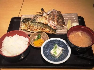 161216魚盛堂島アバンザ店焼魚定食850円