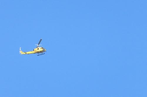 黄色のヘリコプター1