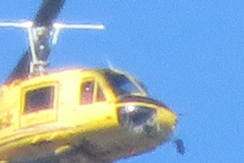 黄色のヘリコプター3