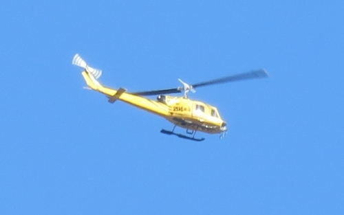 黄色のヘリコプター6