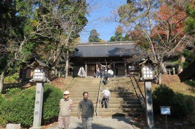 土津神社・拝殿