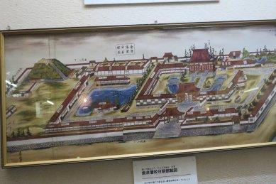 武家屋敷跡の展示・日新館図