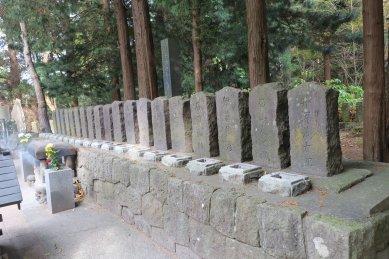 白虎隊19士の墓