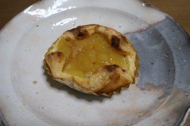 アップルパイon丹波立杭焼作家の皿?