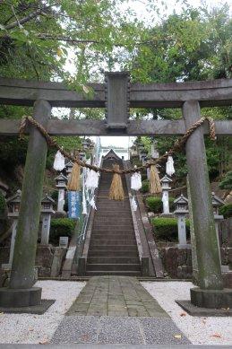 師岡熊野神社・鳥居