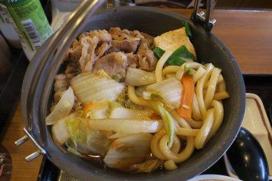 牛すき鍋・アップ