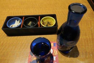 日本酒とお通し