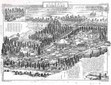 平林禅寺之景