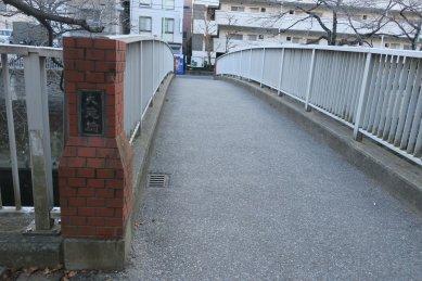大滝橋・大洗堰の位置