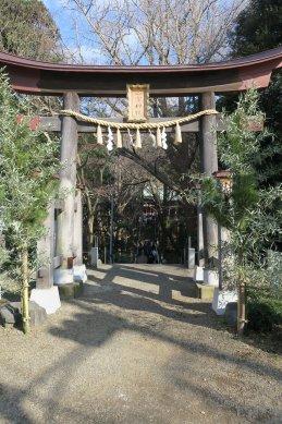 二宮神社・鳥居