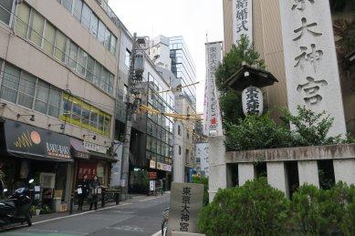 東京大神宮参道入口