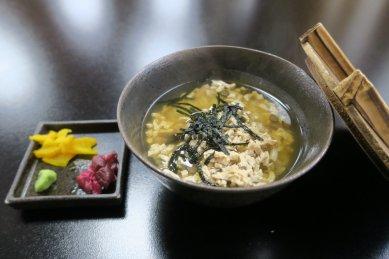 うずみ豆富(お茶漬け)