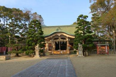 大江神社社殿