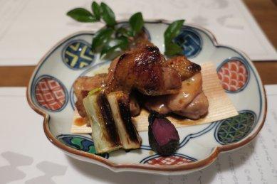阿波地鶏山椒焼き