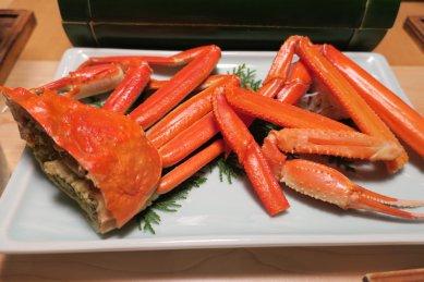 205酢肴 茹ずわい蟹 紅ずわい蟹の食べくらべ