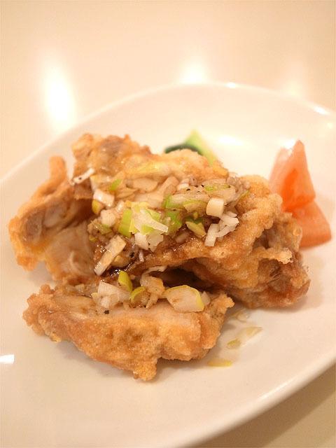 160315中華ダイニング華火-若鶏のから揚げスパイシーソース