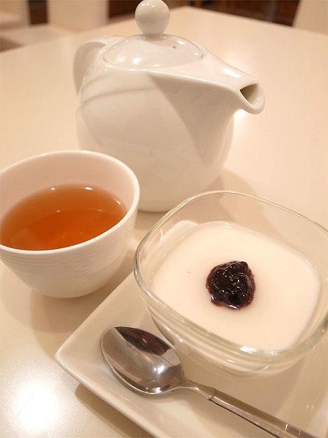160315中華ダイニング華火-ジャスミン茶