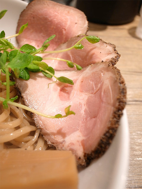 160405アノラーメン製作所-Pine soupツケメン ダブル・肉