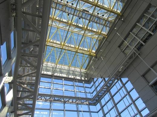 市立大学天井