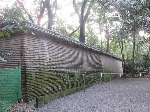 熱田神宮信長塀