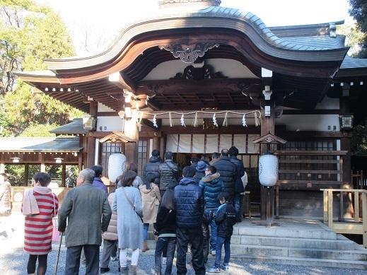 29年元旦氷上姉子神社