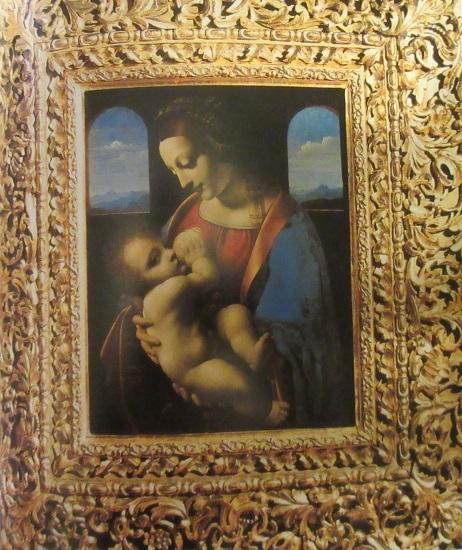 ダヴィンチ聖母と幼子キリスト(リッタの聖母)