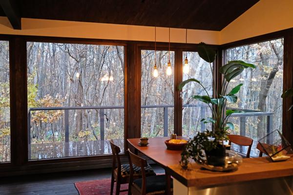 雑木林の家の見学10