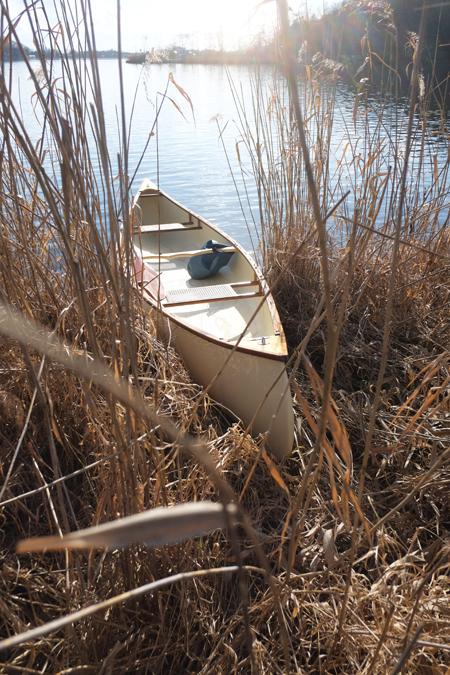 ポロト湖でカヌー21