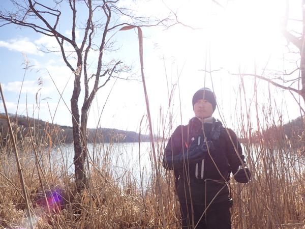 ポロト湖でカヌー22