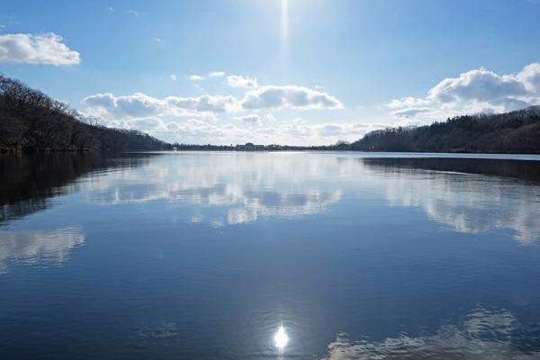 ポロト湖でカヌー28