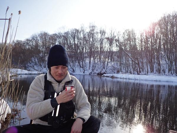 カヌーで真冬のパンケナイ川へ04