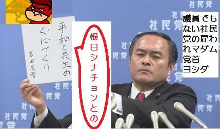 社民党の雇われマダム吉田1