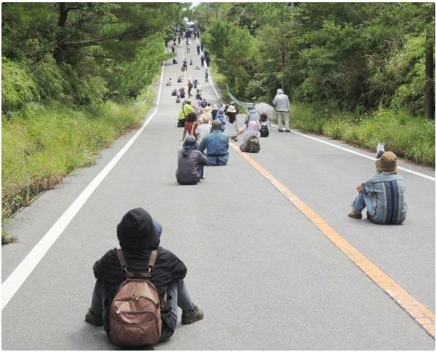 沖縄で活動しているのは本土のプロ市民7