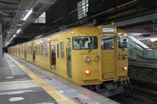 朝の広島駅②
