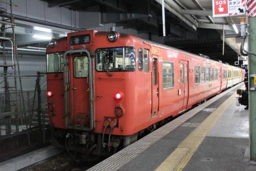 朝の広島駅⑥