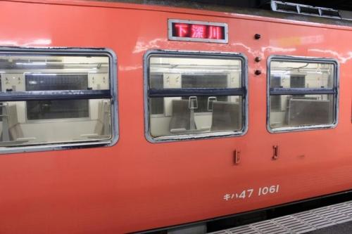朝の広島駅⑦