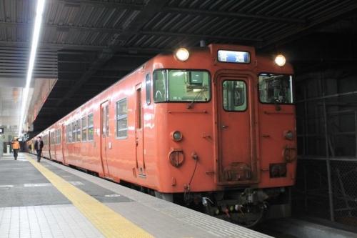 朝の広島駅⑩