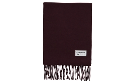 MGJ-AC10 CASHMERE STOLE BURGUNDY_R