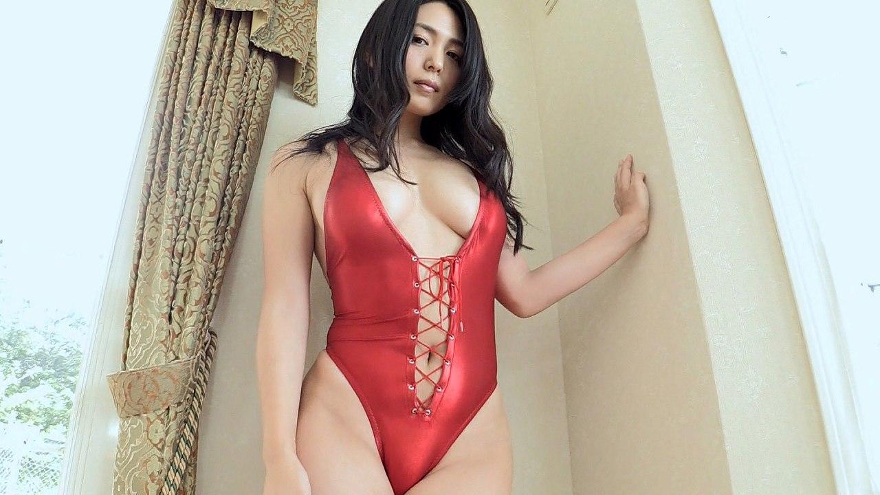 川村ゆきえのイメージビデオキャプチャ画像(セクシーな下着を着た川村ゆきえ)