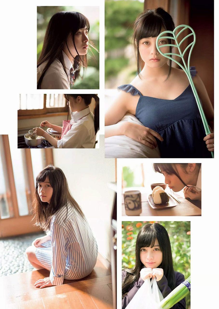 「週刊プレイボーイ 2016 No.45」橋本環奈の着衣巨乳グラビア