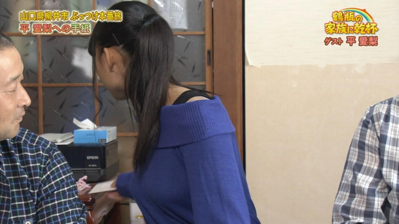 NHK「鶴瓶の家族に乾杯」に出演した巨乳の女子高生の着衣巨乳