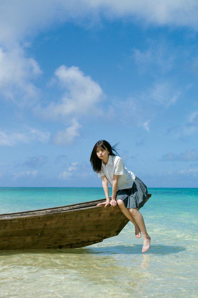 齋藤飛鳥の初写真集「潮騒」画像