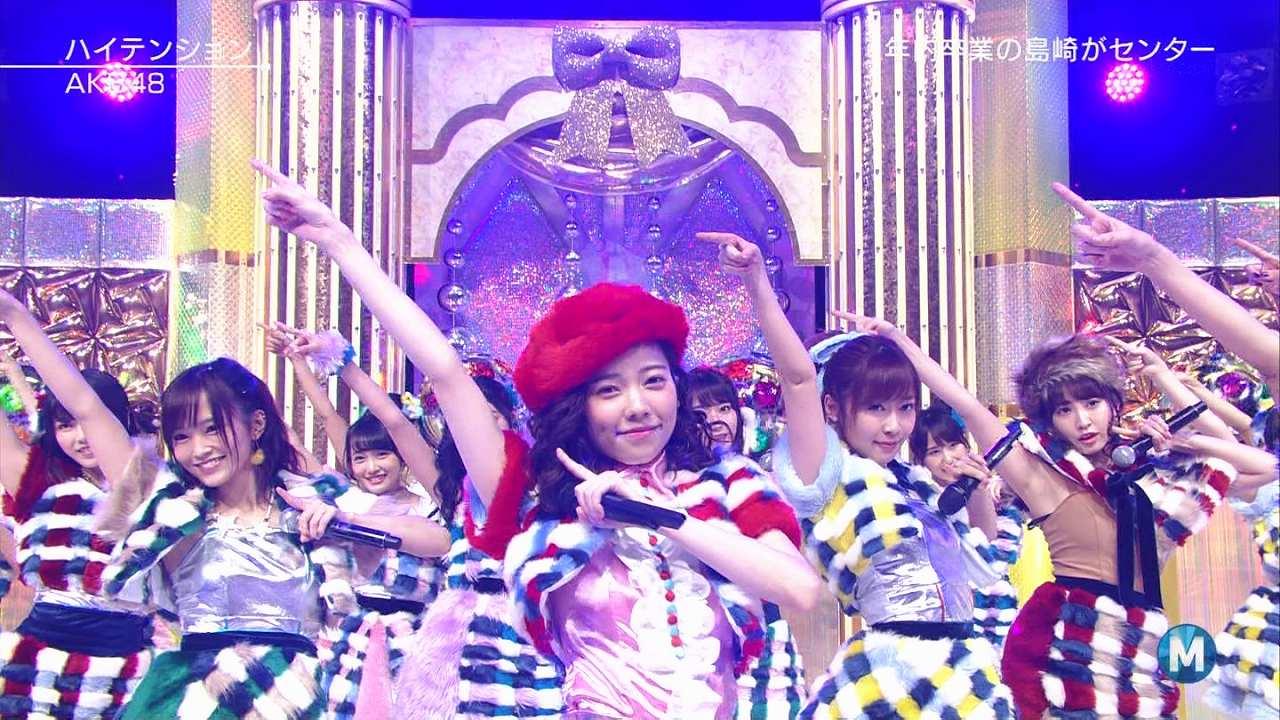 テレ朝「ミュージックステーション」で衣装を着忘れ、インナー丸出しのまま「ハイテンション」を歌う小嶋陽菜