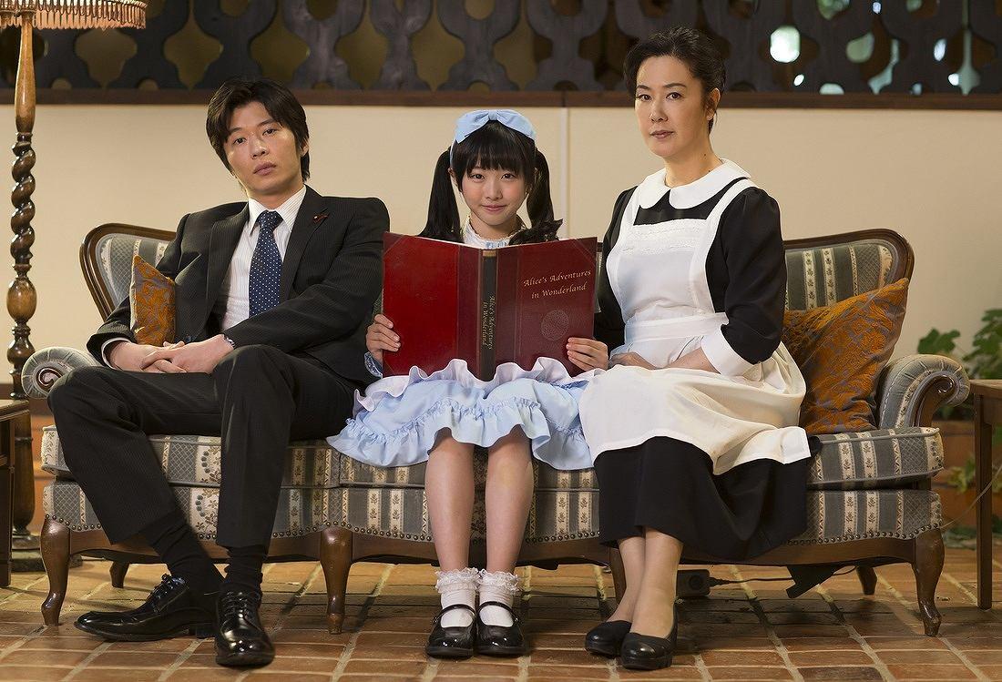 ドラマ「探偵少女アリサの事件簿」でロリータ衣装を着た本田望結